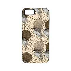 Bouffant Birds Apple Iphone 5 Classic Hardshell Case (pc+silicone)