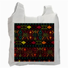 Bohemian Patterns Tribal Recycle Bag (one Side)