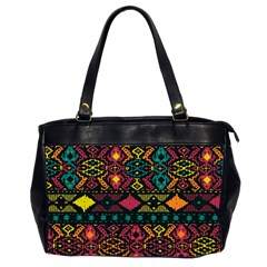 Bohemian Patterns Tribal Office Handbags (2 Sides)