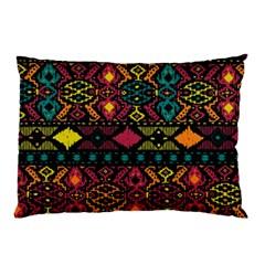 Bohemian Patterns Tribal Pillow Case (two Sides)