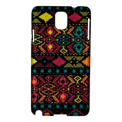 Bohemian Patterns Tribal Samsung Galaxy Note 3 N9005 Hardshell Case