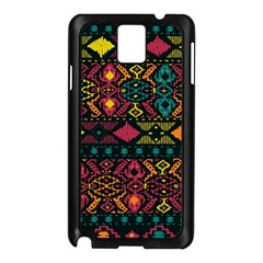 Bohemian Patterns Tribal Samsung Galaxy Note 3 N9005 Case (black)