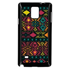 Bohemian Patterns Tribal Samsung Galaxy Note 4 Case (black)