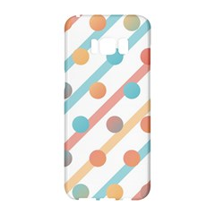Simple Saturated Pattern Samsung Galaxy S8 Hardshell Case
