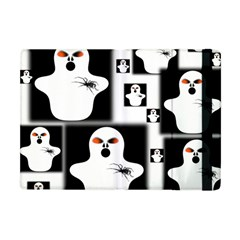 Funny Halloween   Ghost Pattern 2 Apple Ipad Mini Flip Case
