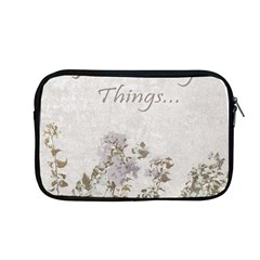 Shabby Chic Style Motivational Quote Apple Macbook Pro 13  Zipper Case
