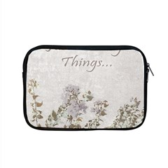 Shabby Chic Style Motivational Quote Apple Macbook Pro 15  Zipper Case