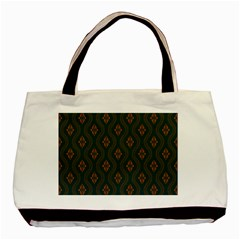 Ornamental Pattern Background Basic Tote Bag (two Sides)