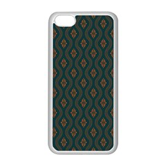 Ornamental Pattern Background Apple Iphone 5c Seamless Case (white)