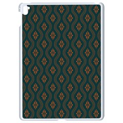 Ornamental Pattern Background Apple Ipad Pro 9 7   White Seamless Case