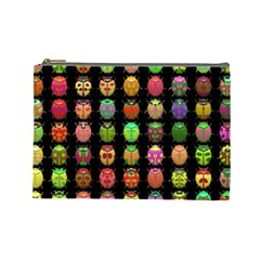 Beetles Insects Bugs Cosmetic Bag (large)