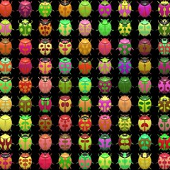Beetles Insects Bugs Magic Photo Cubes