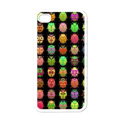 Beetles Insects Bugs Apple Iphone 4 Case (white)