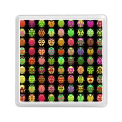 Beetles Insects Bugs Memory Card Reader (square)