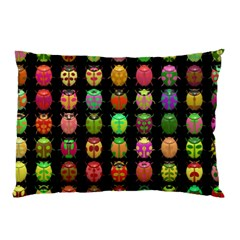 Beetles Insects Bugs Pillow Case (two Sides)