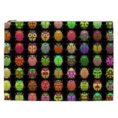 Beetles Insects Bugs Cosmetic Bag (xxl)