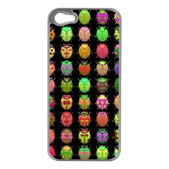 Beetles Insects Bugs Apple Iphone 5 Case (silver)