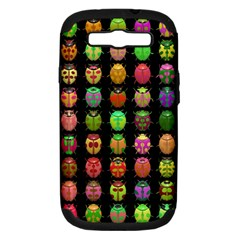 Beetles Insects Bugs Samsung Galaxy S Iii Hardshell Case (pc+silicone)