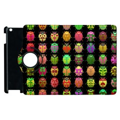 Beetles Insects Bugs Apple Ipad 2 Flip 360 Case