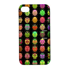 Beetles Insects Bugs Apple Iphone 4/4s Hardshell Case With Stand