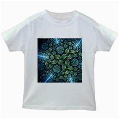 Blue Lotus Kids White T Shirts