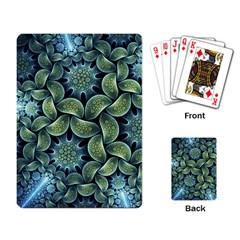 Blue Lotus Playing Card