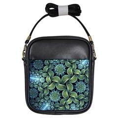 Blue Lotus Girls Sling Bags