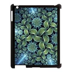 Blue Lotus Apple Ipad 3/4 Case (black)
