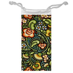 Bohemia Floral Pattern Jewelry Bag