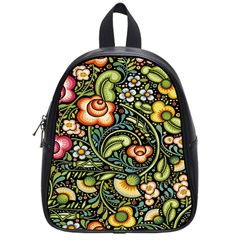 Bohemia Floral Pattern School Bags (small)