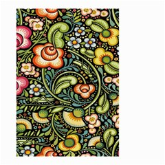 Bohemia Floral Pattern Small Garden Flag (two Sides)