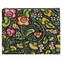 Bohemia Floral Pattern Cosmetic Bag (xxxl)