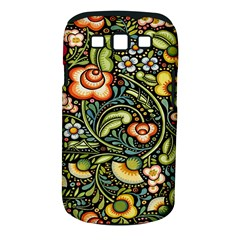 Bohemia Floral Pattern Samsung Galaxy S Iii Classic Hardshell Case (pc+silicone)