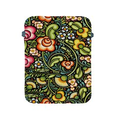 Bohemia Floral Pattern Apple Ipad 2/3/4 Protective Soft Cases