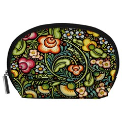 Bohemia Floral Pattern Accessory Pouches (large)