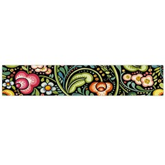 Bohemia Floral Pattern Flano Scarf (large)