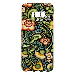 Bohemia Floral Pattern Samsung Galaxy S8 Plus Hardshell Case