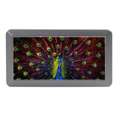 Beautiful Peacock Feather Memory Card Reader (mini)