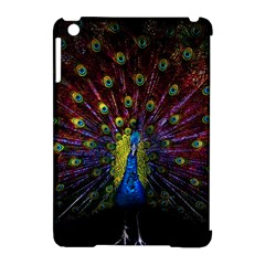 Beautiful Peacock Feather Apple Ipad Mini Hardshell Case (compatible With Smart Cover)