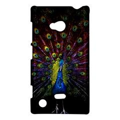 Beautiful Peacock Feather Nokia Lumia 720