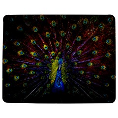 Beautiful Peacock Feather Jigsaw Puzzle Photo Stand (rectangular)