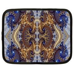 Baroque Fractal Pattern Netbook Case (large)