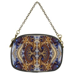Baroque Fractal Pattern Chain Purses (two Sides)