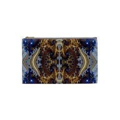 Baroque Fractal Pattern Cosmetic Bag (small)