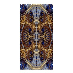 Baroque Fractal Pattern Shower Curtain 36  X 72  (stall)