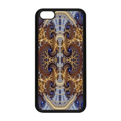 Baroque Fractal Pattern Apple Iphone 5c Seamless Case (black)