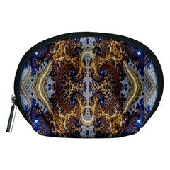Baroque Fractal Pattern Accessory Pouches (medium)