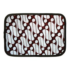 Batik Art Patterns Netbook Case (medium)