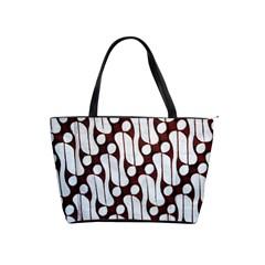 Batik Art Patterns Shoulder Handbags