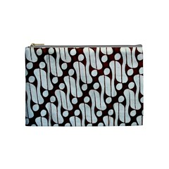 Batik Art Patterns Cosmetic Bag (medium)